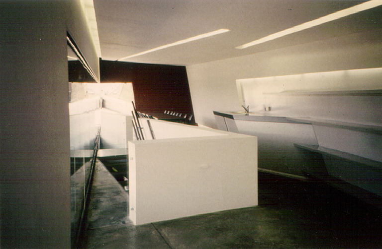 Inspiration through Zaha Hadid: Vitra, Weil am Rhein DE                Photo 1996 by Brigitte van Bakel