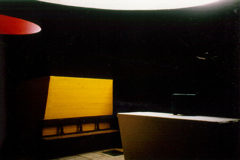 Inspiration through le Corbusier: Ste Marie de la Tourette, Eveux FR         Photo 1996 by Brigitte van Bakel